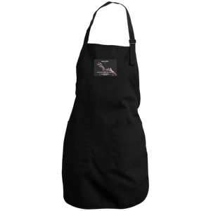 "Full Length Apron -Spiritual Inspirational Affirmation – Cosmetologist ""Mastery is . . . "" - Well Being Addict.Com"