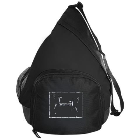 "Active Sling Pack- Spiritual Inspirational Affirmation Basketball ""SWEETSPOT"" - Well Being Addict.Com"