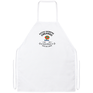 APRON - AFFIRMATION, POSITIVITY, LOA, MINDFULNESS, ESPANOL, SPANISH - Well Being Addict.Com