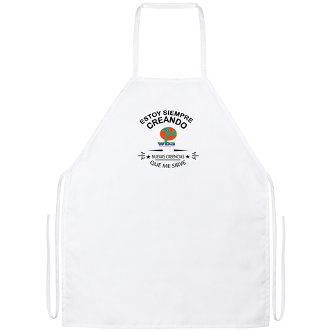 Apron - AFFIRMATION, POSITIVITY, LOA, MINDFULNESS - Well Being Addict.Com