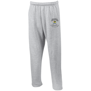 Open Bottom Sweatpants with Pockets - Well Being Addict.Com