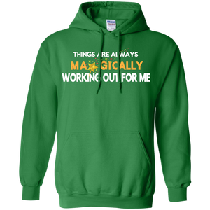 Pullover Hoodie 8 oz ST PATRICK'S T-SHIRT - Well Being Addict.Com