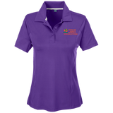 "Team 365 Ladies Solid Performance Polo ""THINGS ARE ALWAYS MAGICALLY WORKING OUT FOR ME"""