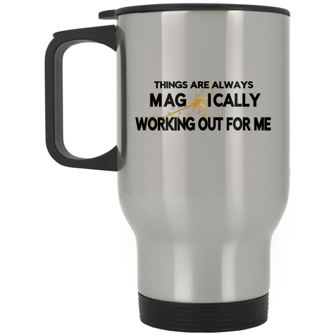 STAINLESS STEEL TRAVEL MUG POSITIVE AFFIRMATION