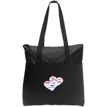 Load image into Gallery viewer, Zip Top Tote-Love Me First - Love Me First - Well Being Addict.Com