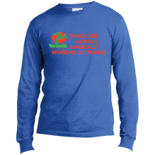 "Load image into Gallery viewer, Customized Spiritual Inspirational Affirmation Long Sleeve Made in the US T-Shirt ""Things . . "" - Well Being Addict.Com"