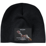 "Customized Cosmetologist Inspirational Affirmation  Beanie- ""Mastery Is . . "" - Well Being Addict.Com"