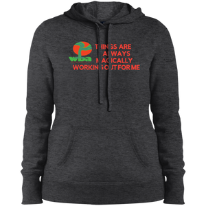 "Customized Spiritual Inspirational Affirmation Pullover Hooded Sweatshirt""THINGS ARE ALWAYS MAGICALLY"" - Well Being Addict.Com"