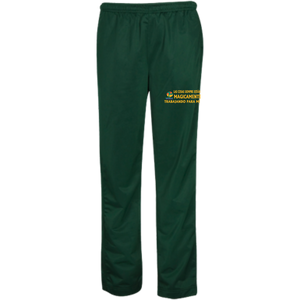 Custom Embroidered Youth Warm-Up Track Pants - Well Being Addict.Com