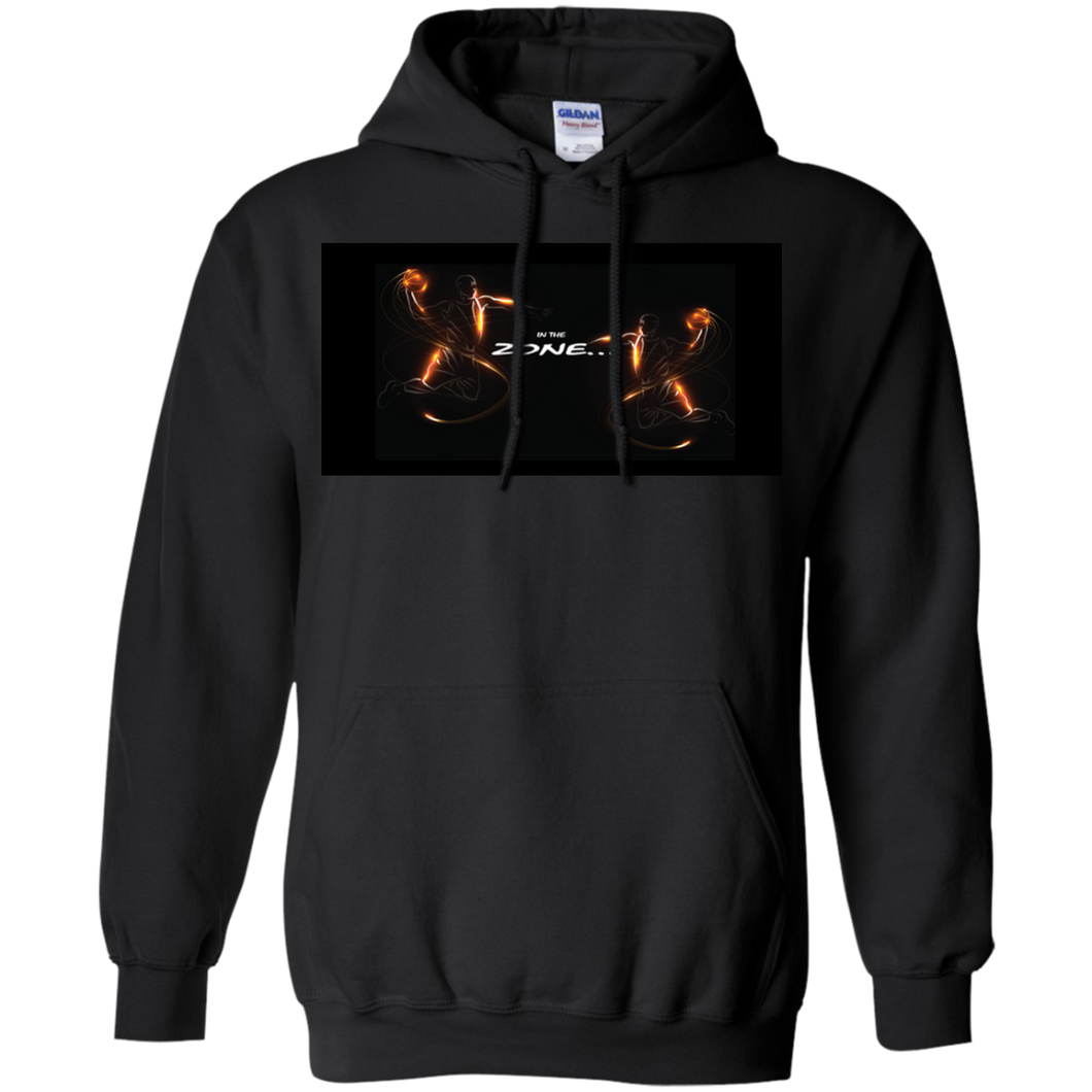 Pullover Hoodie - Customized Inspirational Affirmations-Basketball - Well Being Addict.Com