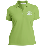 Ladies Nike® Dri-Fit Polo Shirt Positive Affirmation Inspirational - Well Being Addict.Com