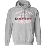 "Customized Spiritual Inspirational Affirmation Pullover Hoodie "" I Absolutely Must. . ."""