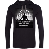 "Customized Spiritual Inspirational Affirmations LS T-Shirt Hoodie -MY EMOTIONS ARE MY ""GPS"" FOR INNER GUIDANCE"