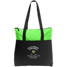 Load image into Gallery viewer, Zip Top Tote-Bolsa - Well Being Addict.Com