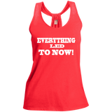 Ladies Shimmer Loop Back Tank - Well Being Addict.Com