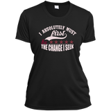 Ladies Short Sleeve Moisture-Wicking Shirt