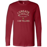 Bella+Canvas Men's Jersey Long Sleeve- - Well Being Addict.Com