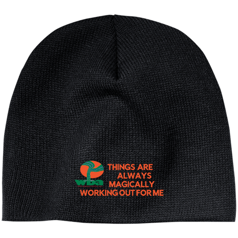 "Customized Spiritual Inspirational Affirmation ""Beanie"" ""Things are Always. . ."" - Well Being Addict.Com"