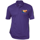 "Performance Textured Three-Button Polo Spiritual Inspirational Affirmation Basketball ""Sweetspot.  ."""