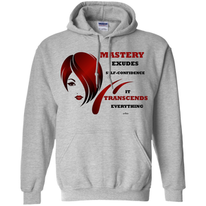 Pullover Hoodie 8 oz -Cosmetologist Positive, Inspirational Affirmation - Well Being Addict.Com