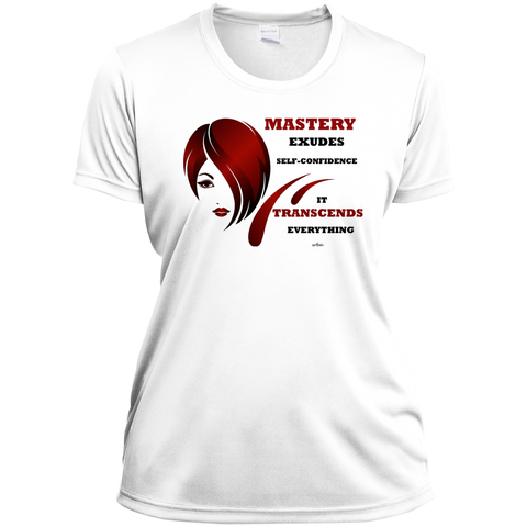 Ladies Short Sleeve Moisture-Wicking Shirt Cosmetologist Inspirational Positive Affirmations