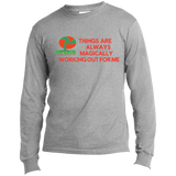 "Customized Spiritual Inspirational Affirmation Long Sleeve Made in the US T-Shirt ""Things . . "" - Well Being Addict.Com"