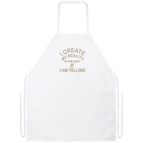 Apron- Positive Spiritual Affirmations - Well Being Addict.Com
