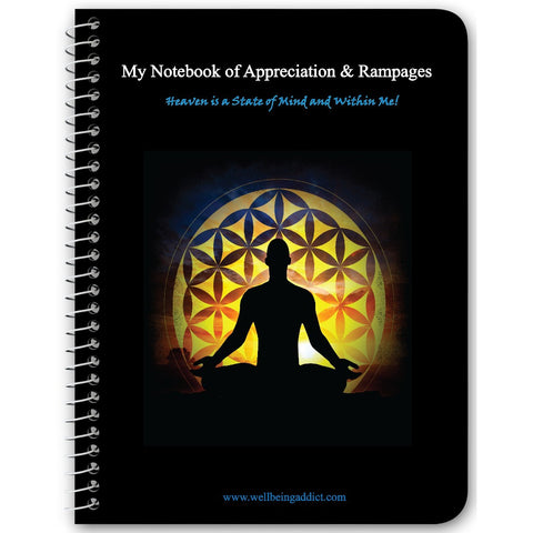 My Notebook of Appreciation & Rampages - Deliberate Creating Processes - LOA - Well Being Addict.Com