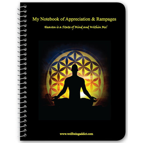 My Notebook of Appreciation & Rampages - LOA Deliberate Creating Processes - Well Being Addict.Com