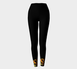 "YOGA PANTS, LEGGINGS - ACTIVE/WORKOUT ""INTUITIVE"" DESIGN - Well Being Addict.Com"