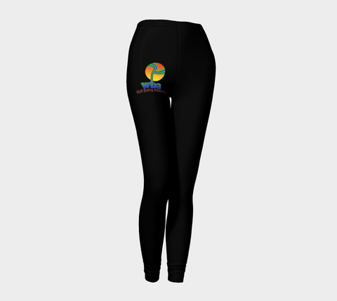 "YOGA PANTS/LEGGINGS - ACTIVE/WORKOUT ""WBA"" - Well Being Addict.Com"