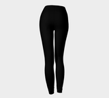 "YOGA PANTS, LEGGINGS - WORKOUT - RELIGIOUS, AFFIRMATION, INSPIRATION ""PEACE OF MIND"