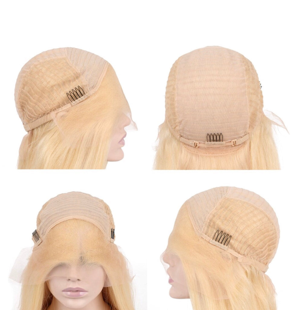 Mink 613 / Blonde Lace Front Wig (10A)