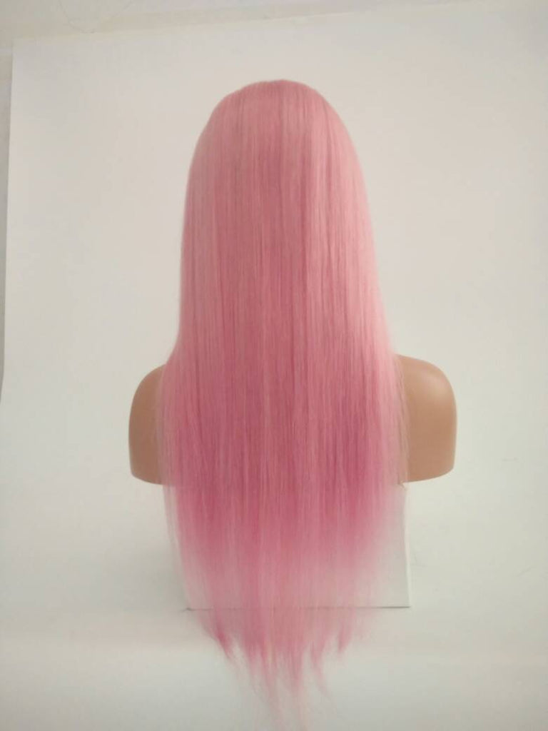 Mink Pastel Pink (10A )Lace Front Wig