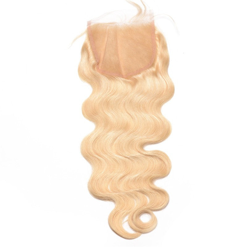 613/BLONDE MINK BRAZILIAN BODY WAVE (3 Bundle Deals) w closure