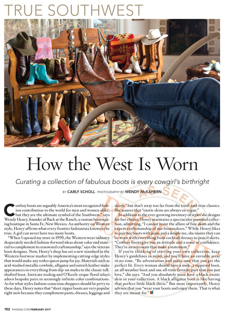 True Southwest - as seen in Phoenix Home and Garden Magazine