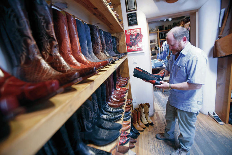 Back at the Ranch celebrates 25 years as Santa Fe's go-to shop for handmade cowboy boots