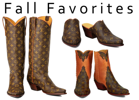 custom cowboy boots for fall