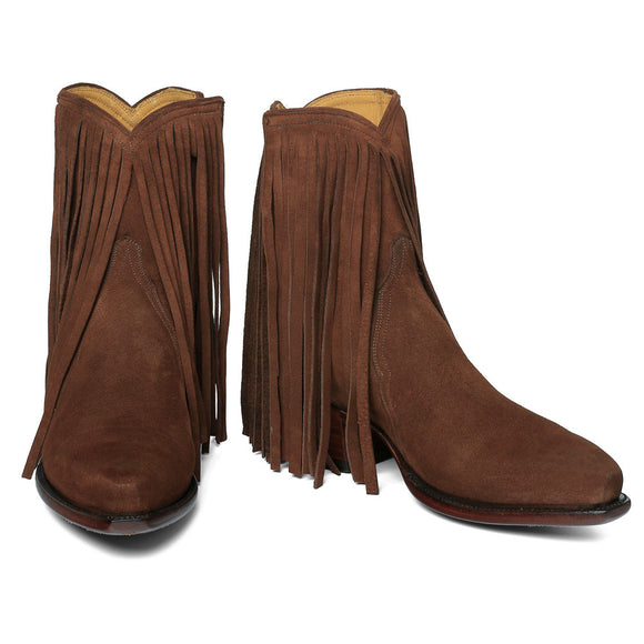Fringe Ankle Zipper - Back at the Ranch