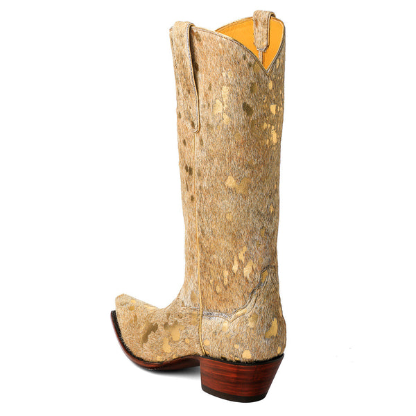 Cow-Boot-Gold-h