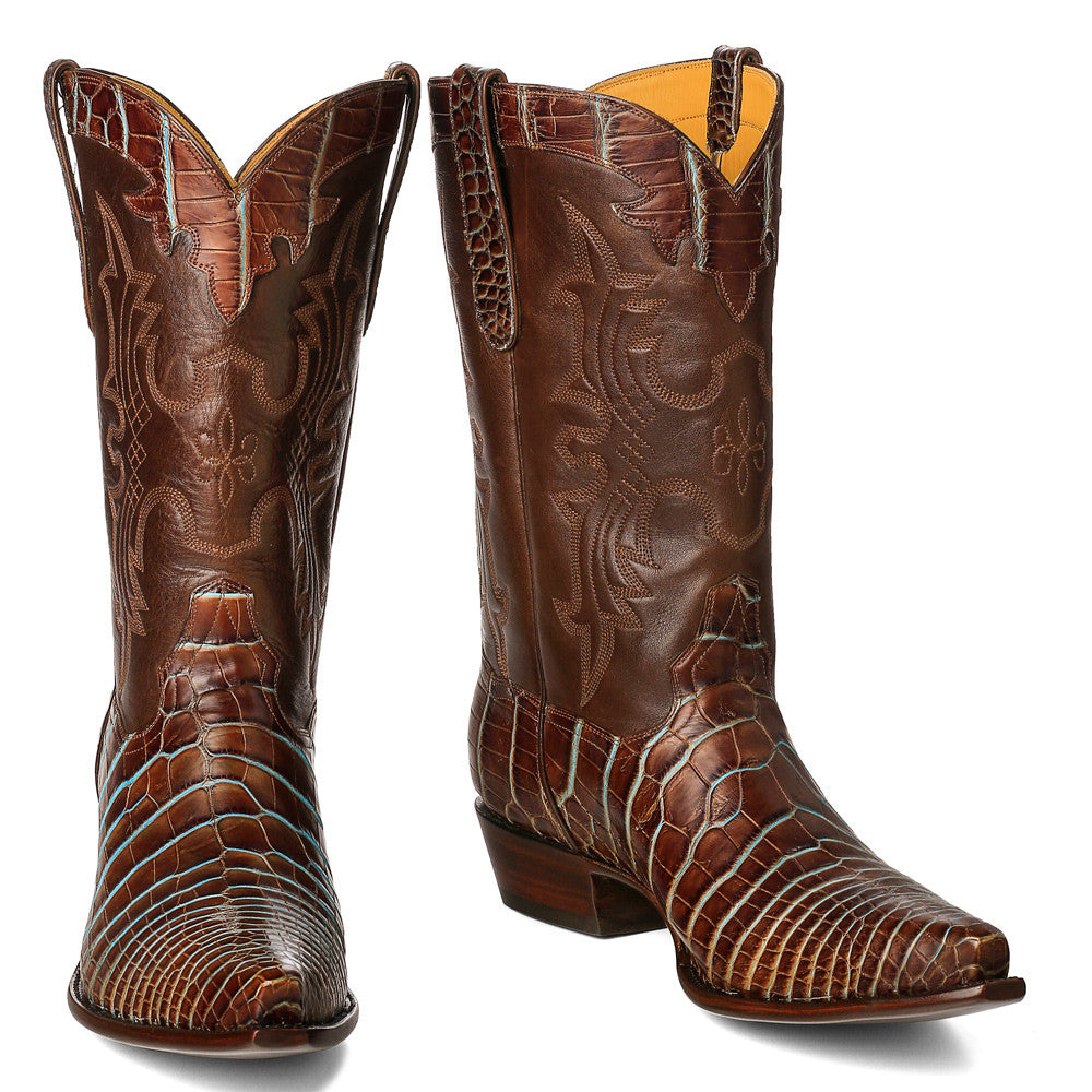 Crock-Boot-Brown-Turquoise-1