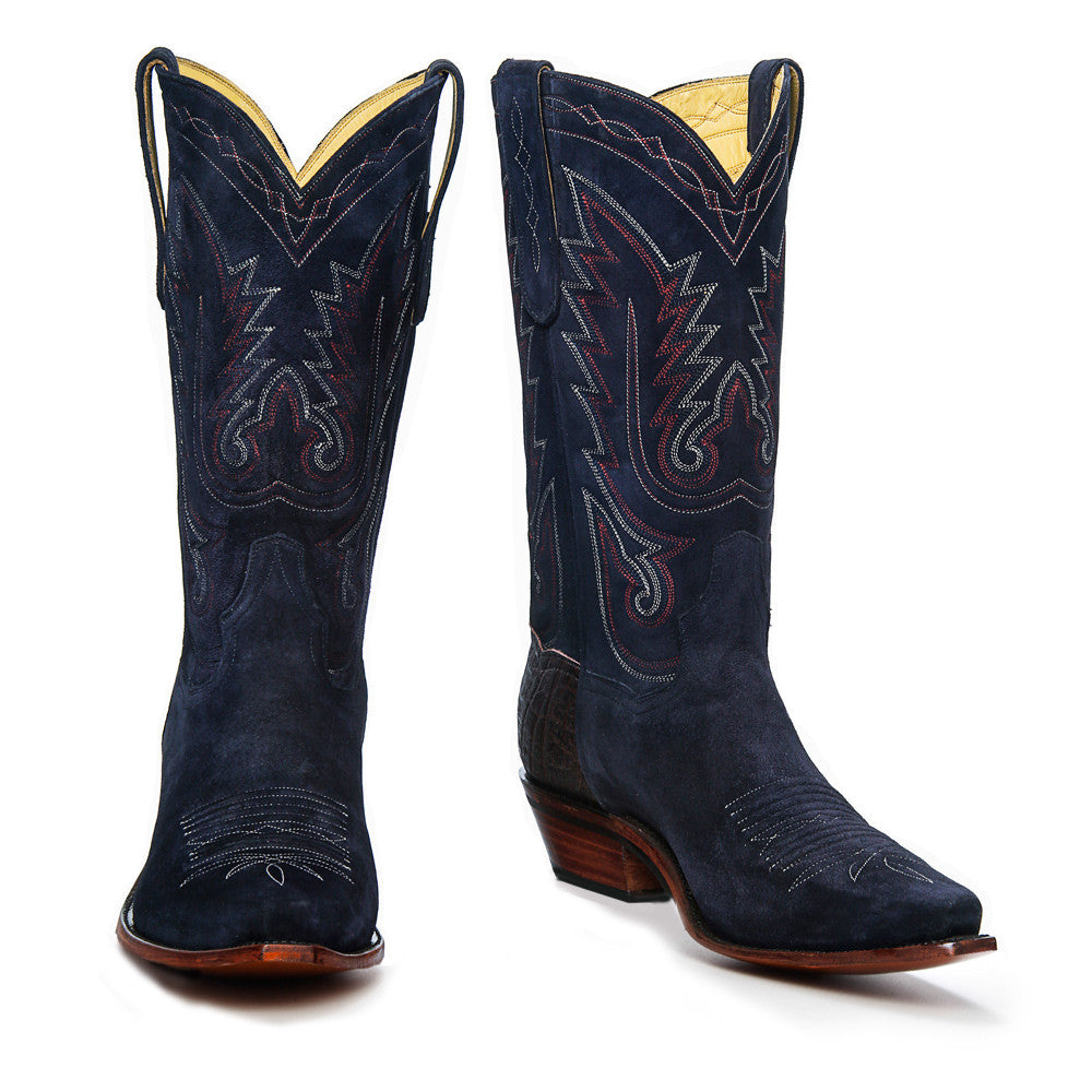 "El Rancho 12"" - Navy - Back at the Ranch"