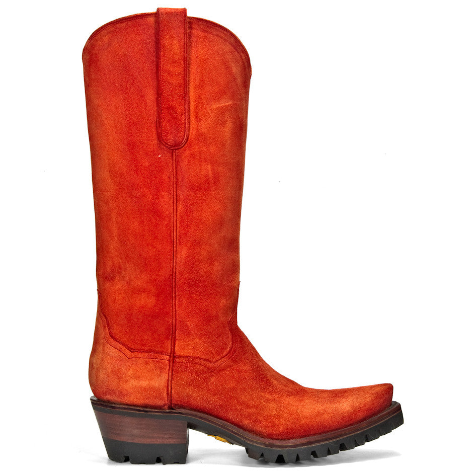 "Equestrian 14"" with Vibram - Orange - Back at the Ranch"