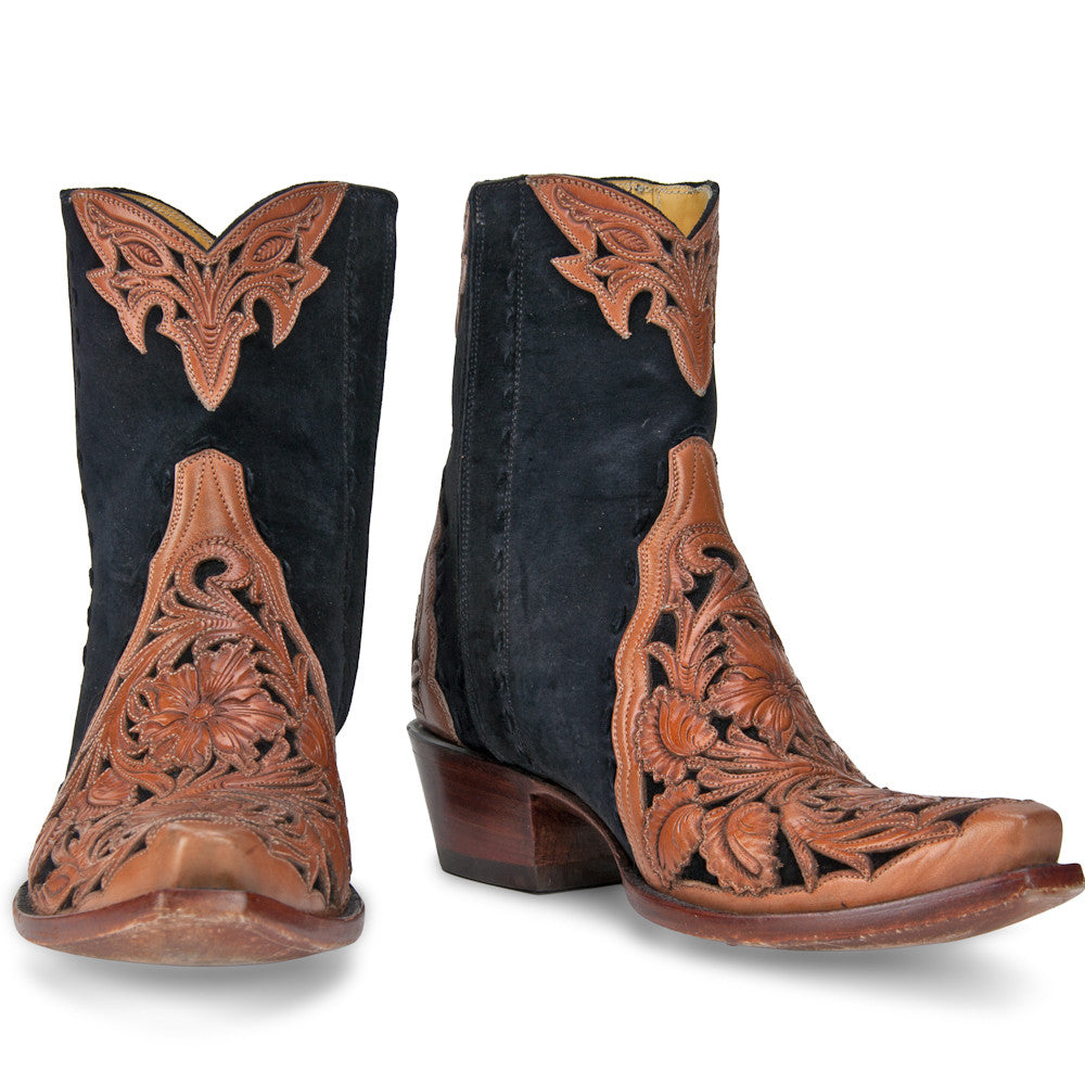 Filigree Ankle Zipper - Back at the Ranch