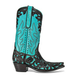 "Filigree 12"" - Turquoise - Back at the Ranch"