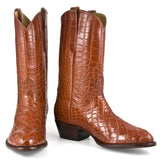 "Crocodile Full 12"" Round Toe - Back at the Ranch"