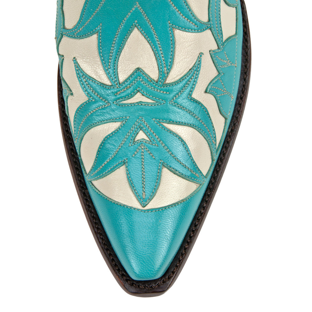 "Monet 12"" - Turquoise/Bone - Back at the Ranch"