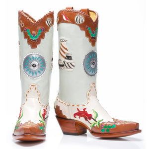 "New Mexico Boot 10"" - Back at the Ranch"