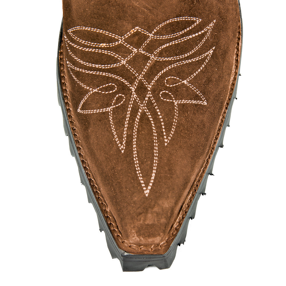 Raindance Ankle Zipper with Vibram and Stitching - Back at the Ranch