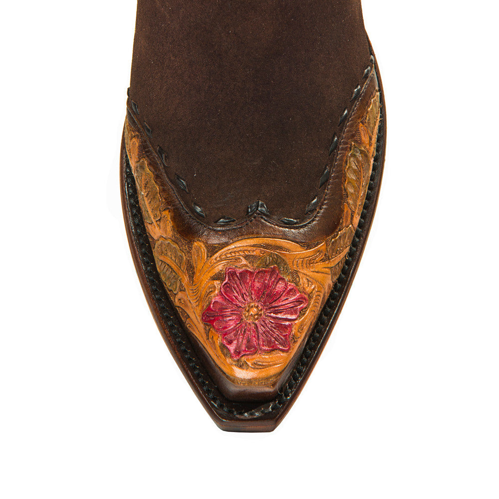 "Saddle Floral 12"" - Back at the Ranch"
